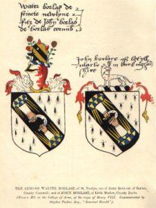 Borlase Coat of Arms